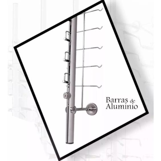 Exhibidor Para 16 Armazones De Metal Con Llave