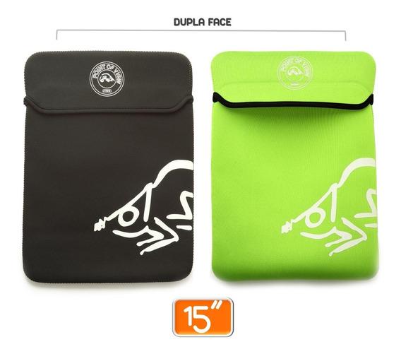 Capa Protetora P/ Notebook Netbook 15 Polegadas Em Neoprene