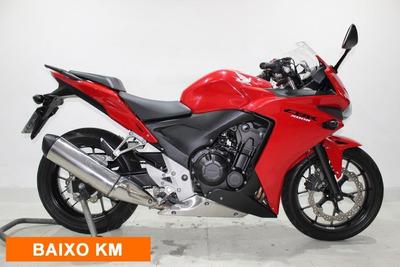 Honda Cbr 500 R 2014 Vermelha