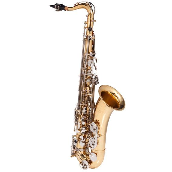 Saxofone Tenor Wtsm49bb Duplo C/ Chaves Niqueladas - Michael