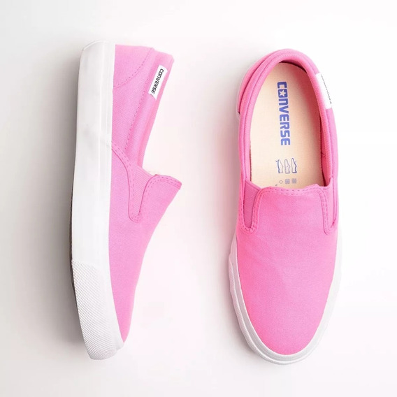 Tenis All Star Slip On Rosa