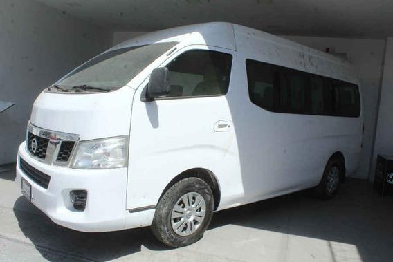 Nissan Urvan 2016 4p Amplia L4/2.5 Man 15/pas P/seg