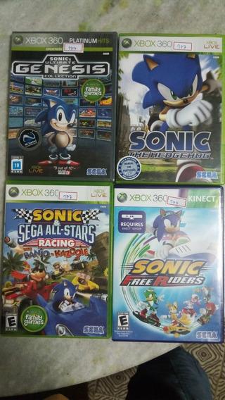 Xbox 360 Combo Sonic Original Ntsc