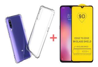 Película 9d + Capa Anti-queda Xiaomi Mi 9 Lite (original)