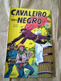 Cavaleiro Negro Nº 209 - Anos 60 - Rio Gráfica - Faroeste