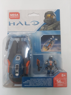 Mega Construx Halo Drop Pod 56 Pz Operación Veritas Oferta