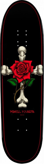 Tabla De Skate Powell Peralta Funshape Rose Cross 8.6