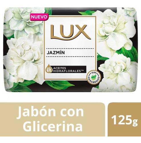 Jabon Con Glicerina Lux Jazmin X 125 G