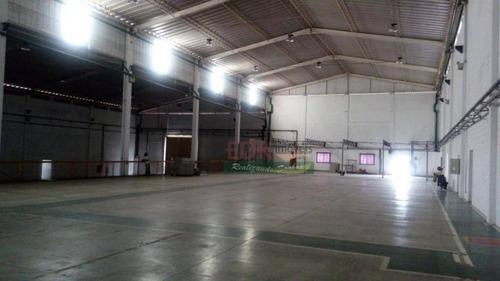 Imagem 1 de 15 de Galpão Comercial Para Locação, Jardim Baronesa, Taubaté. - Ga0058