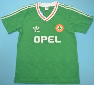 Camisa Retrô Seleção Da Irlanda 1990 - Uniforme 1