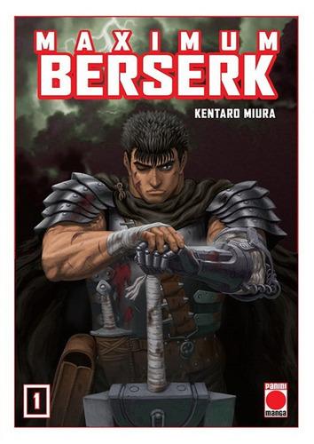 Manga, Maximum Berserk 1 / Kentaro Miura / Panini