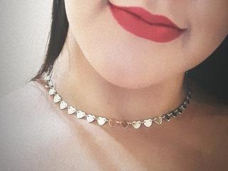 Collar En Acero Inoxidables Choker Cadena Gargantillas