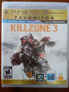 Killzone 3 Juego Ps3 Nuevo Y Sellado En Español