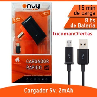 Cargador Only Turbo Tipo Micro Usb