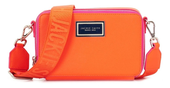 Cartera Bandolera Jackie Smith Claire Naranja Colorado