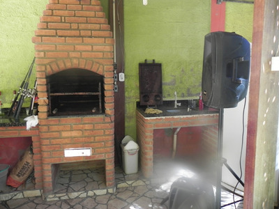 (k.a) Chácara Com Linda Área De Lazer Com 2 Churrasqueiras