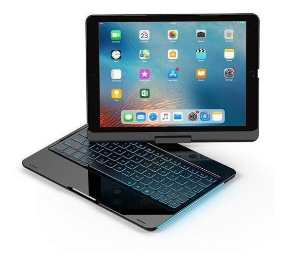 Capa 360° Teclado Retroiluminado iPad Pro 10.5 iPad Air 10.5