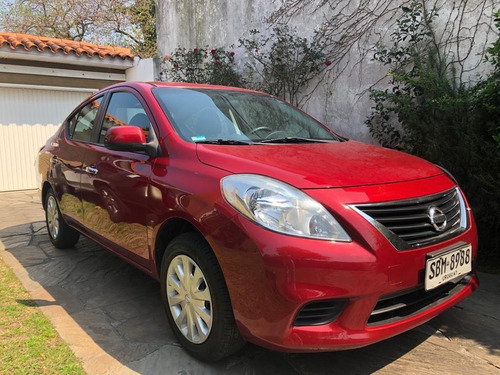 Nissan Versa 1.6 Advance 5vel Mt Igual A Nuevo