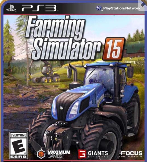 Farming Simulator 15 Ps3 Jogo Psn Comprar