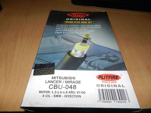 Juego De Cables De Bujias Para Mitsubishi Lancer / Mirage