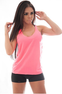 Kit 5 Regatas Femininas Academia Musculação Fitness