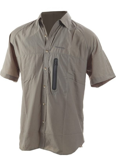 Camisa De Secado Rápido Mangas Cortas Hombre Makalu
