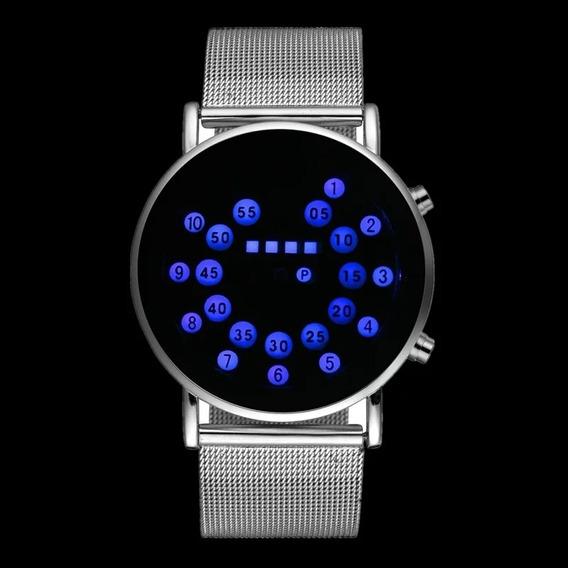 Relógio Digital De Luxo Criativo - Promoção