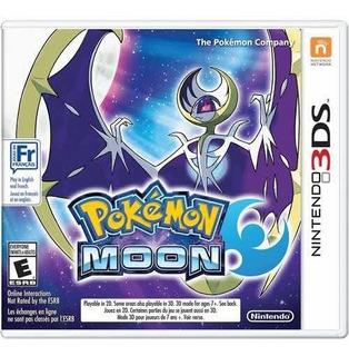 Pokemon Moon 3ds Fisico + Figura