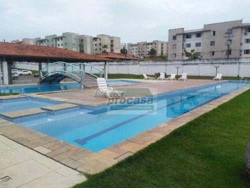 Imagem 1 de 17 de Apartamento Com 2 Dormitórios À Venda, 43 M² Por R$ 120.000,00 - Tarumã - Manaus/am - Ap3280