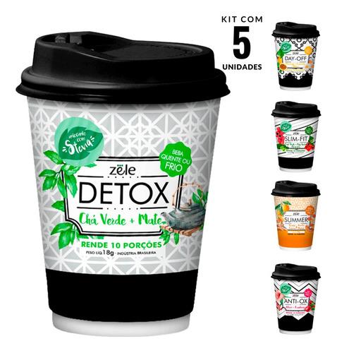 Suchá Kit Chá Suco Colágeno E Mais 100% Natural 50 Doses