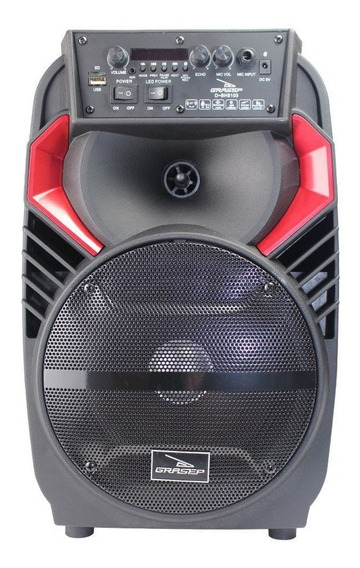 Caixa De Som 40w Rms Bluetooth D-bh8103 - Grasep