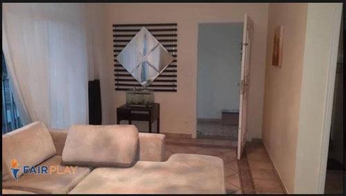 Casa Para Venda Ou Locação 3 Dormitórios, 1 Suite, 3 Wc, Copa, Cozinha, Quintal, Churrasqueira, 4 Vagas, 260m Jardim Do Mar São Bernardo Do Campo - Ca0387