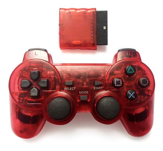 Joypad Controlador Sem Fio Para Ps2 Jogo Console