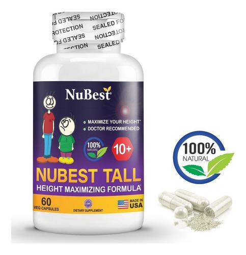 Nubest Tall 10+ Vitamina Aumentar Estatuta Niños Y Jovenes