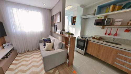 Apartamento Com 2 Dormitórios À Venda, 38 M² Por R$ 215.000,00 - Vila Nhocune - São Paulo/sp - Ap7166