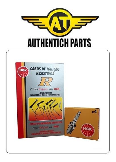 Kit Cabos De Vela + Velas Ngk Dodge Dakota 3.9 V6 97 A 01