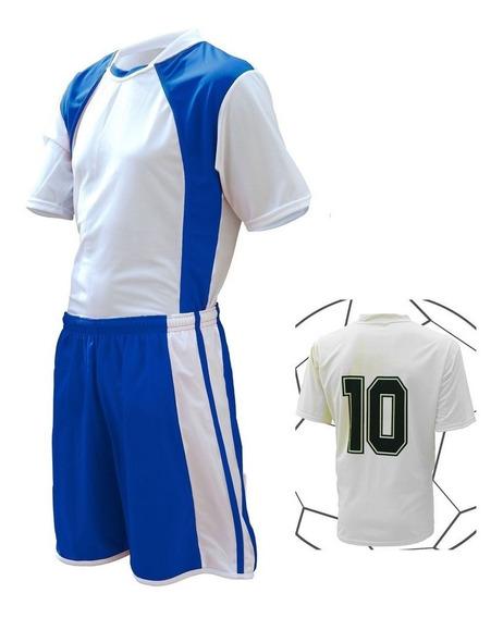 Jogo De Camisa Calção Fardamento Treino Jogo Esportivo 12pç