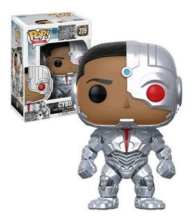 Funko Pop Cyborg #209 Justice League Original Env Gratis