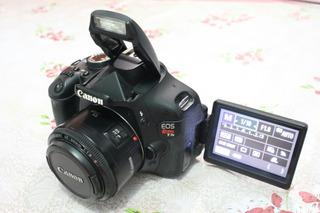 Canon T3i Lente 50mm Frete Grátis E Sem Juros
