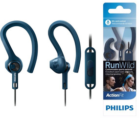Fone De Ouvido Esportivo Philips Shq1405 C/ Microfone C/ Nf