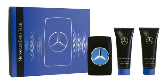 Perfume Importado Hombre Mercedes-benz Edt 100 Ml + Shower G