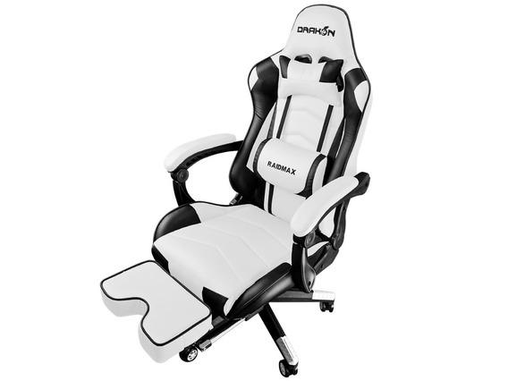 Cadeira Gamer Raidmax Drakon Branco/preto Dk-709wt