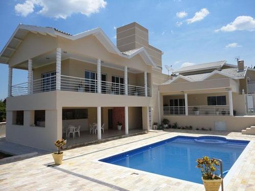 Casa Com 5 Dormitórios À Venda, 500 M² Por R$ 1.200.000 - Terras De Santa Rosa Ii - Salto/sp - 11631