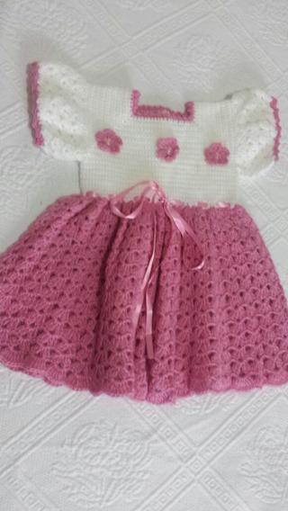 Vestido De Niña 47 Cm Color Palo De Rosa
