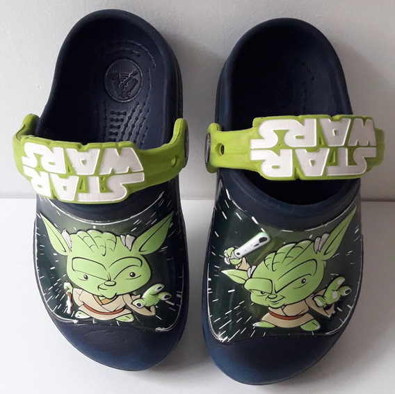 Crocs Star Wars Yoda Para Niños
