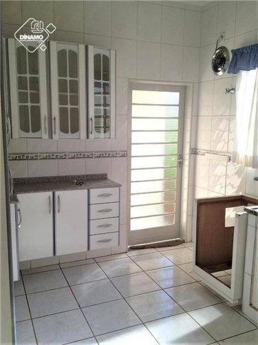 Casa Com 3 Dormitórios À Venda, 180 M² Por R$ 350.000,00 - Campos Elíseos - Ribeirão Preto/sp - Ca0484