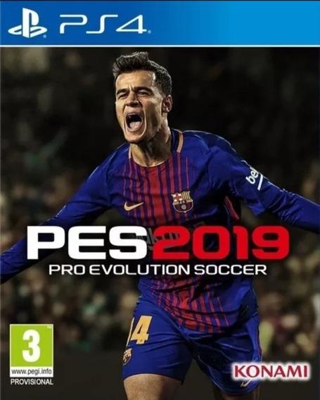 Pes 19 Ps4 Pro Evolution Soccer2019 Digital1 - Original Psn
