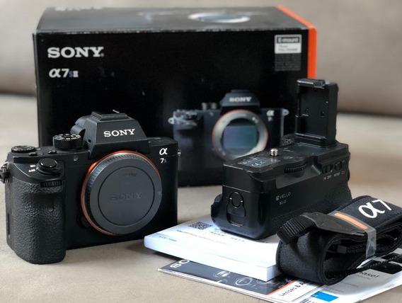 Sony A7sii +2 Baterias + Grip+ 50mm Fe