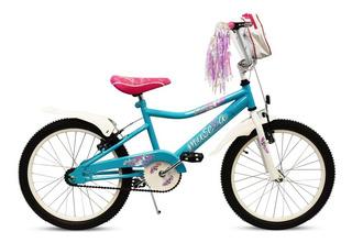 Bicicleta Musetta Rodado 20 Fantasy Nena Niña Planet Cycle.