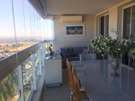 Apartamento No Golden Square - À Venda, 137 M² Por R$ 1.100.000 - Alphaville Campinas - Campinas/sp - Ap3018